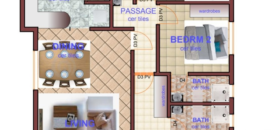 3 BEDROOM ALL EN-SUITE